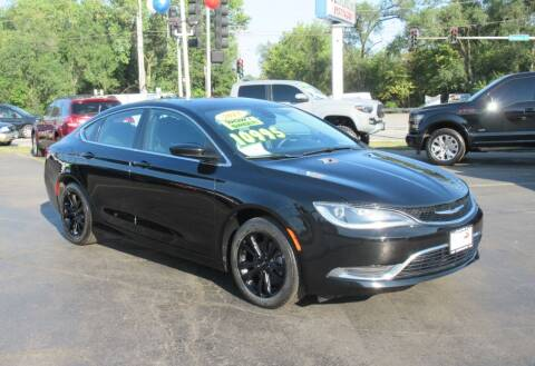 2015 Chrysler 200 for sale at Auto Land Inc in Crest Hill IL