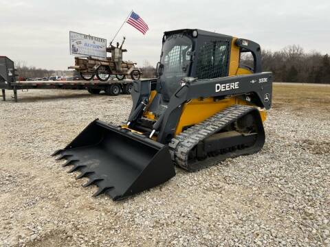 2015 John Deere 333E Loaded Skid Steer for sale at Ken's Auto Sales & Repairs in New Bloomfield MO