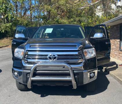 2016 Toyota Tundra for sale at Morristown Auto Sales in Morristown TN