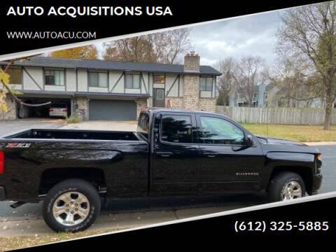 2016 Chevrolet Silverado 1500 for sale at AUTO ACQUISITIONS USA in Eden Prairie MN