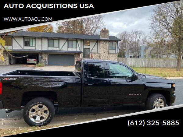 2016 Chevrolet Silverado 1500 for sale at AUTO ACQUISITIONS USA in Eden Prairie MN