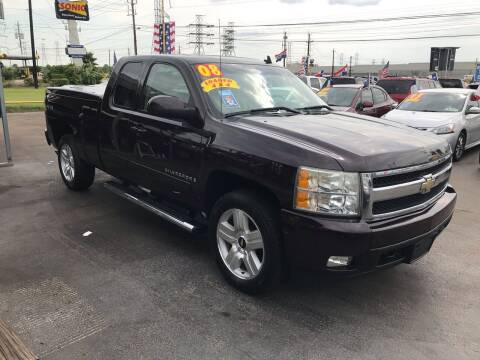 2008 Chevrolet Silverado 1500 for sale at Texas 1 Auto Finance in Kemah TX