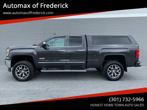 2014 GMC Sierra 1500 for sale at Automax of Frederick in Frederick MD