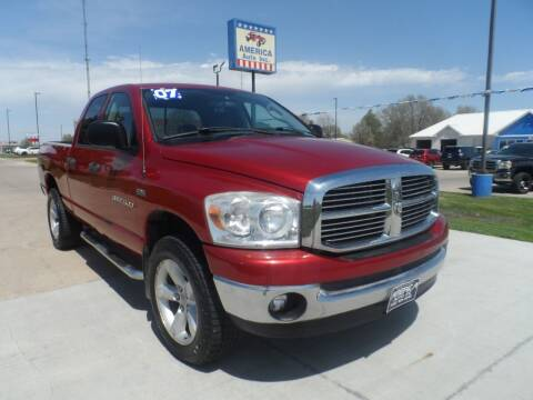 2007 Dodge Ram Pickup 1500 for sale at America Auto Inc in South Sioux City NE