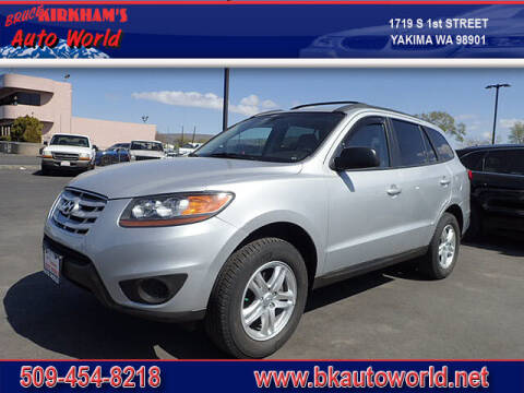 2010 Hyundai Santa Fe for sale at Bruce Kirkham Auto World in Yakima WA