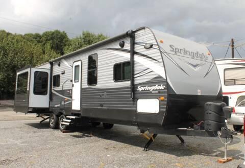 2017 Keystone Springdale for sale at Greenlight Auto Remarketing in Spartanburg SC