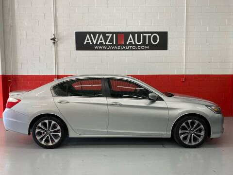 2015 Honda Accord for sale at AVAZI AUTO GROUP LLC in Gaithersburg MD