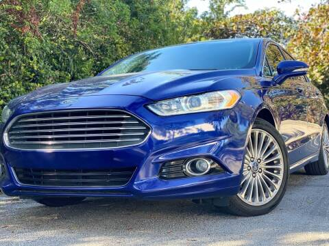 2016 Ford Fusion for sale at HIGH PERFORMANCE MOTORS in Hollywood FL