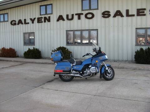 1985 Honda Goldwing for sale at Galyen Auto Sales Inc. in Atkinson NE