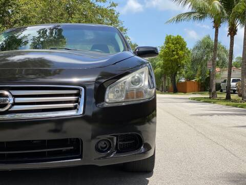 2012 Nissan Maxima for sale at HIGH PERFORMANCE MOTORS in Hollywood FL