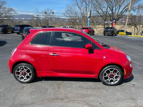 2015 FIAT 500 for sale at MAGNUM MOTORS in Reedsville PA
