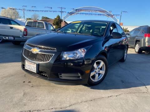 2013 Chevrolet Cruze for sale at CALIFORNIA AUTO SALE 2 in Livingston CA