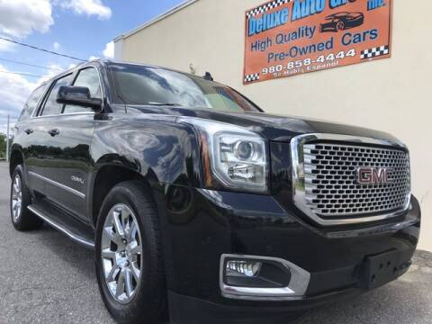 2016 GMC Yukon for sale at Deluxe Auto Group Inc in Conover NC