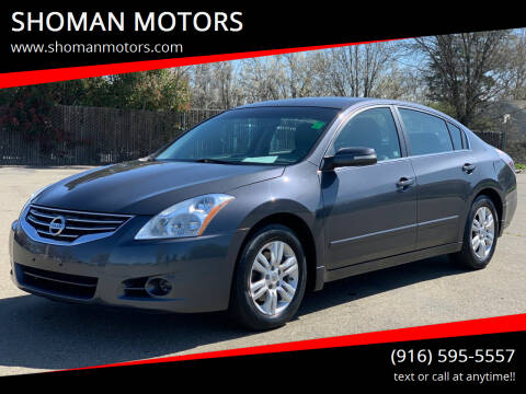 2010 Nissan Altima for sale at SHOMAN AUTO GROUP in Davis CA