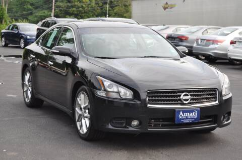 2011 Nissan Maxima for sale at Amati Auto Group in Hooksett NH