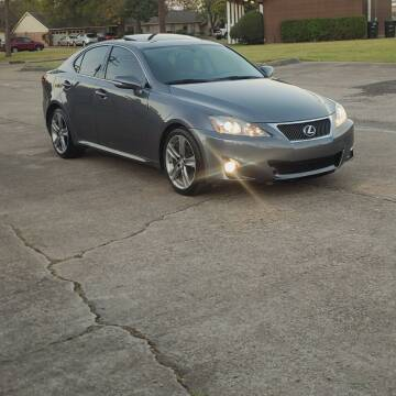 2012 Lexus IS 250 for sale at MOTORSPORTS IMPORTS in Houston TX