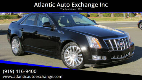 2012 Cadillac CTS for sale at Atlantic Auto Exchange Inc in Durham NC