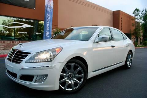 2011 Hyundai Equus for sale at CK Motors in Murrieta CA