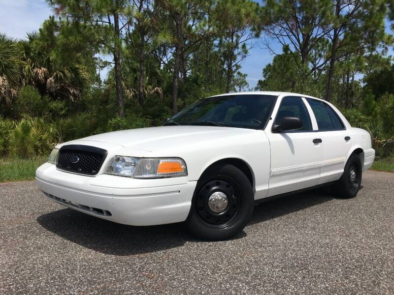 2010 Ford Crown Victoria for sale at VICTORY LANE AUTO SALES in Port Richey FL