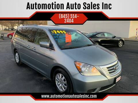 2008 Honda Odyssey for sale at Automotion Auto Sales Inc in Kingston NY