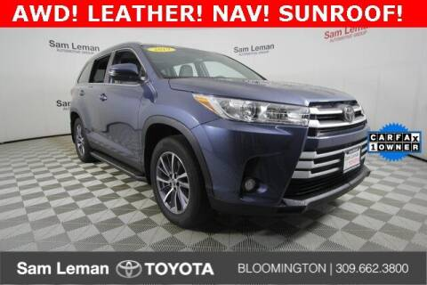 2019 Toyota Highlander for sale at Sam Leman Toyota Bloomington in Bloomington IL