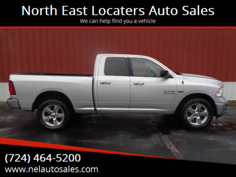 2015 RAM Ram Pickup 1500 for sale at North East Locaters Auto Sales in Indiana PA