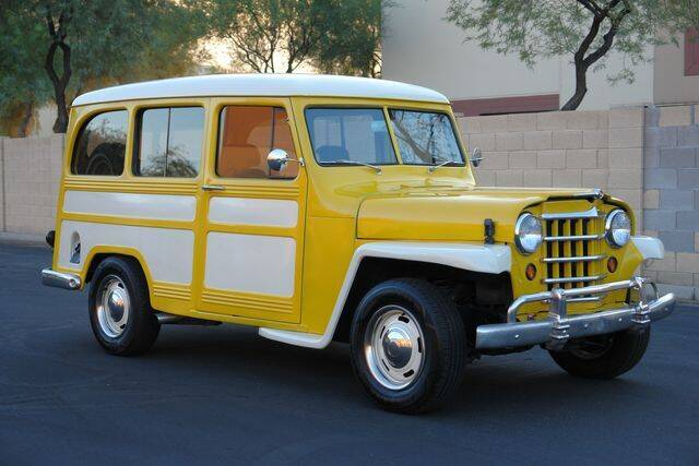 1951 Willys Wagon for sale at Arizona Classic Car Sales in Phoenix AZ