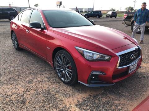 2019 Infiniti Q50 for sale at STANLEY FORD ANDREWS in Andrews TX