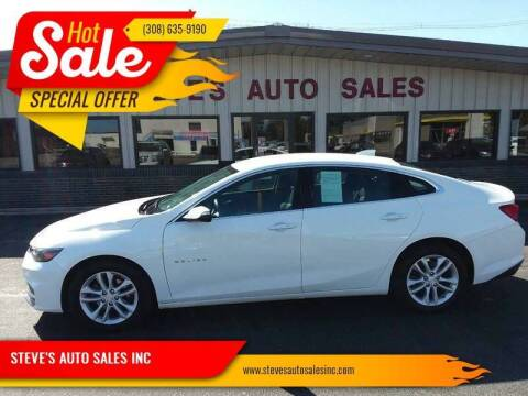 2018 Chevrolet Malibu for sale at STEVE'S AUTO SALES INC - Regular Inventory in Scottsbluff NE