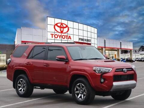 2021 Toyota 4Runner for sale at PHIL SMITH AUTOMOTIVE GROUP - Pinehurst Toyota Hyundai in Southern Pines NC