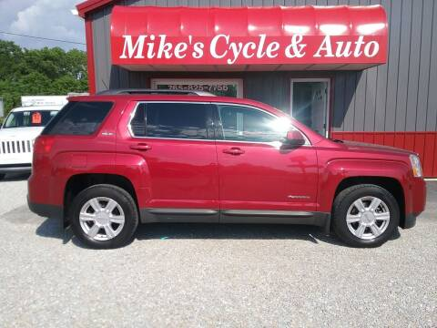 2014 GMC Terrain for sale at MIKE'S CYCLE & AUTO in Connersville IN