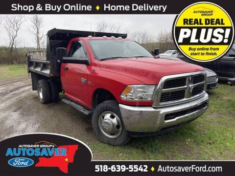 2012 RAM Ram Chassis 3500 for sale at Autosaver Ford in Comstock NY