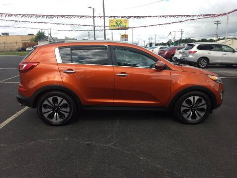 2011 Kia Sportage for sale at Kenny's Auto Sales Inc. in Lowell NC