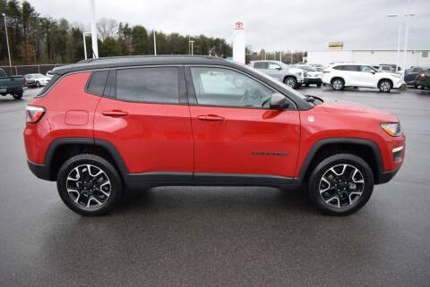 2020 Jeep Compass for sale at Cj king of car loans/JJ's Best Auto Sales in Troy MI