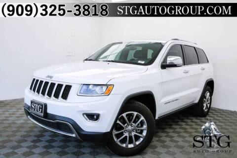 2014 Jeep Grand Cherokee for sale at STG Auto Group in Montclair CA