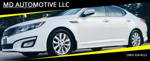 2014 Kia Optima for sale at MD AUTOMOTIVE LLC in Slidell LA