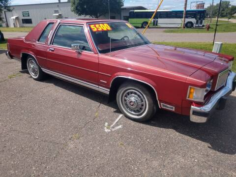 1984 Mercury Grand Marquis for sale at Kull N Claude in Saint Cloud MN