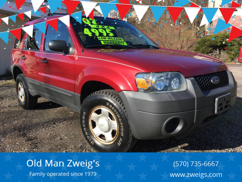 2007 Ford Escape for sale at Old Man Zweig's in Plymouth Township PA