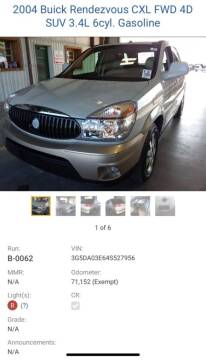 2004 Buick Rendezvous for sale at Victoria Pre-Owned in Victoria TX