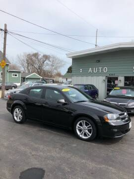 2012 Dodge Avenger for sale at SHEFFIELD MOTORS INC in Kenosha WI