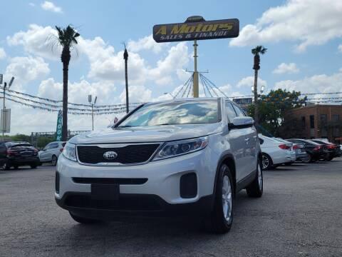 2014 Kia Sorento for sale at A MOTORS SALES AND FINANCE in San Antonio TX