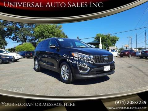 2016 Kia Sorento for sale at Universal Auto Sales Inc in Salem OR
