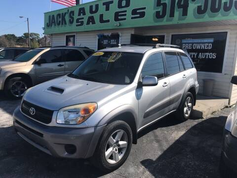 2004 Toyota RAV4 for sale at Jack's Auto Sales in Port Richey FL
