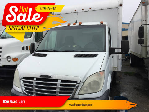 2012 Freightliner Sprinter for sale at BSA Used Cars in Pasadena TX