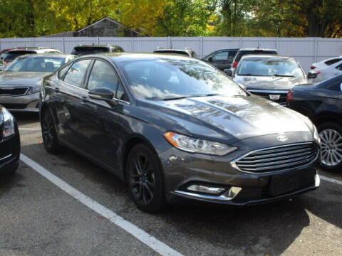 2018 Ford Fusion for sale at SOUTHFIELD QUALITY CARS in Detroit MI