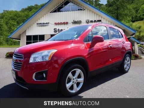 2016 Chevrolet Trax for sale at Stephens Auto Center of Beckley in Beckley WV