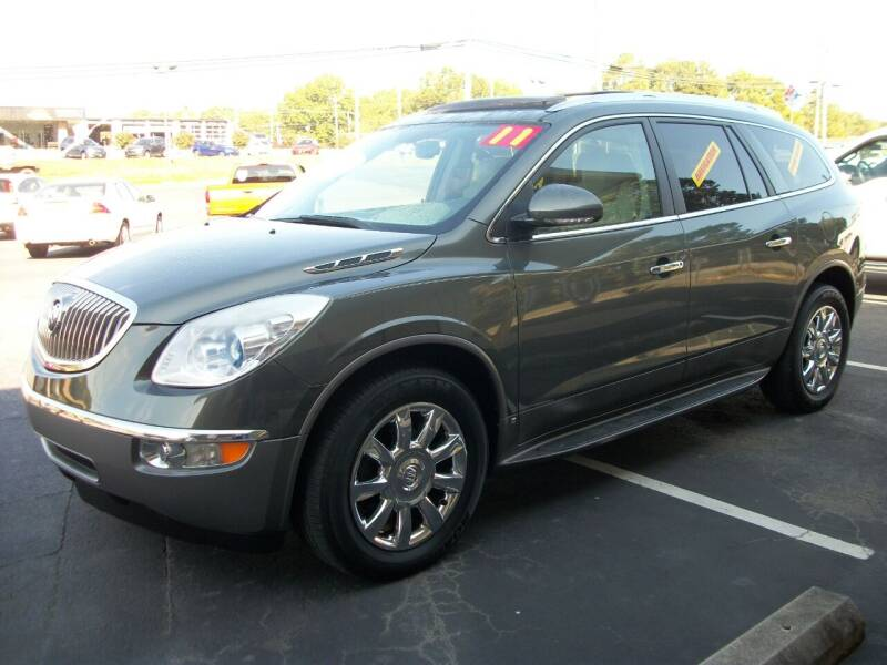 2011 Buick Enclave for sale at Lentz's Auto Sales in Albemarle NC