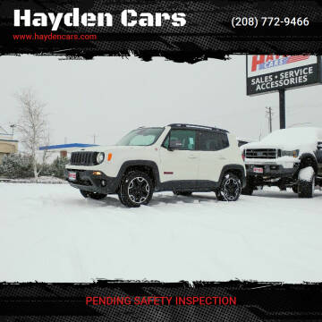 2016 Jeep Renegade for sale at Hayden Cars in Coeur D Alene ID