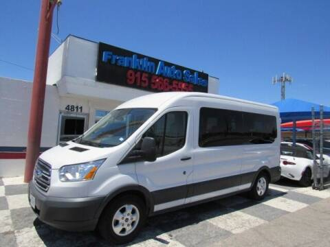2018 Ford Transit Passenger for sale at Franklin Auto Sales in El Paso TX
