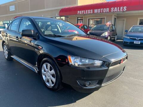 2015 Mitsubishi Lancer for sale at Payless Motor Sales LLC in Burlington NC